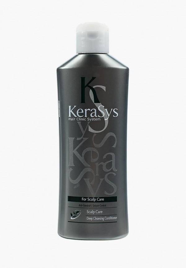 Купить Кондиционер для волос Kerasys, для ухода за жирной кожей головы, 180 мл, KE013LWUJR25, Весна-лето 2018