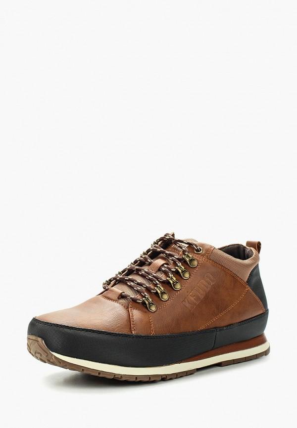 Фото - мужские ботинки и полуботинки Keddo коричневого цвета