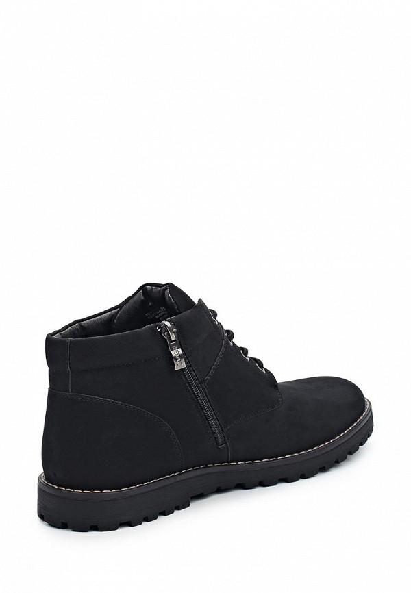 Фото 2 - мужские ботинки и полуботинки Keddo черного цвета