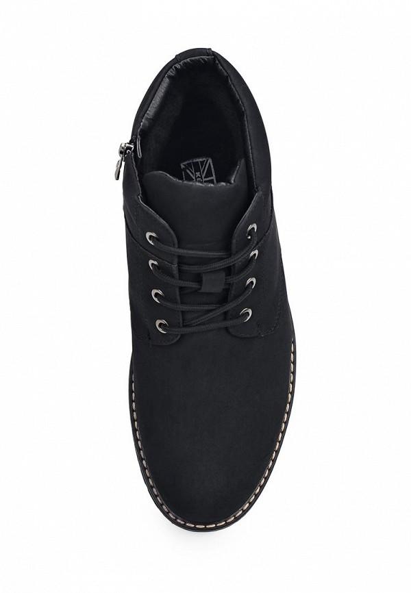 Фото 4 - мужские ботинки и полуботинки Keddo черного цвета