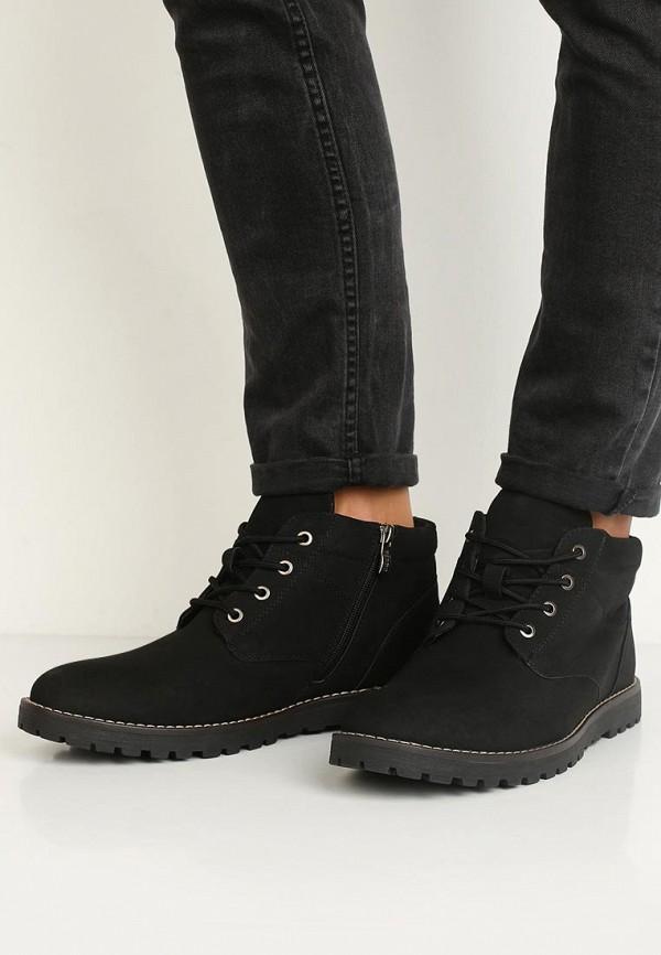Фото 5 - мужские ботинки и полуботинки Keddo черного цвета