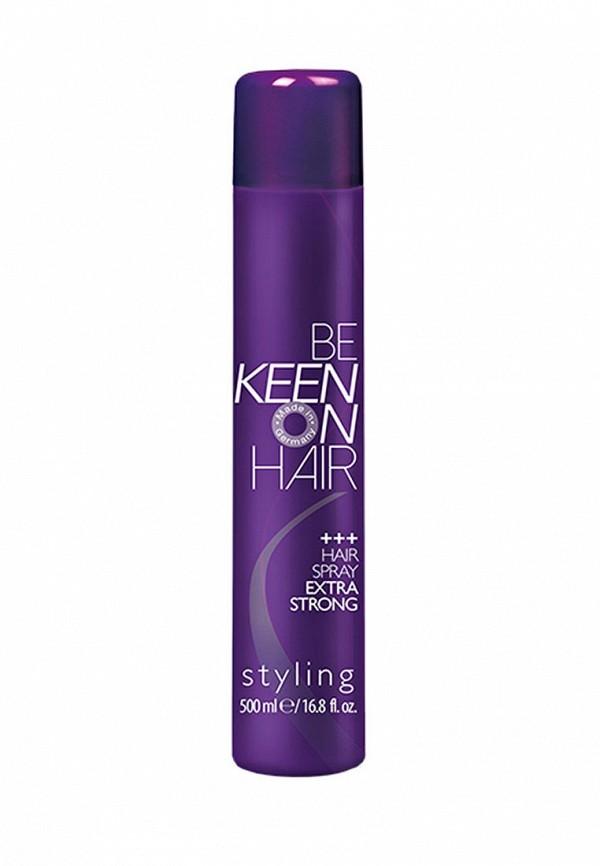 Купить Спрей для укладки KEEN, для экстрасильной фиксации волос, 500 мл, KE132LWAYZQ7, прозрачный, Весна-лето 2018