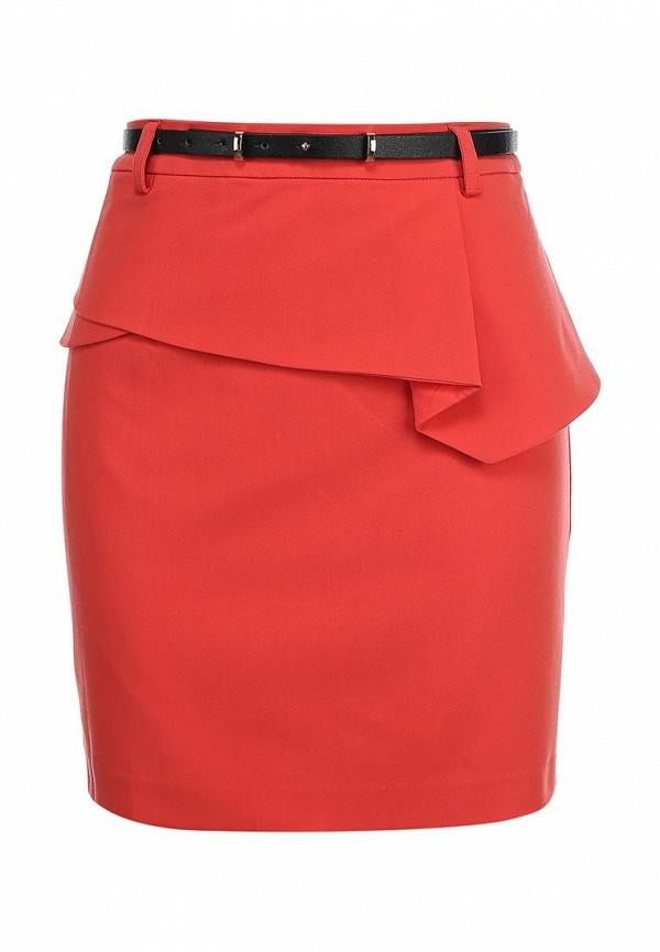 Коралловая юбка Kira Plastinina