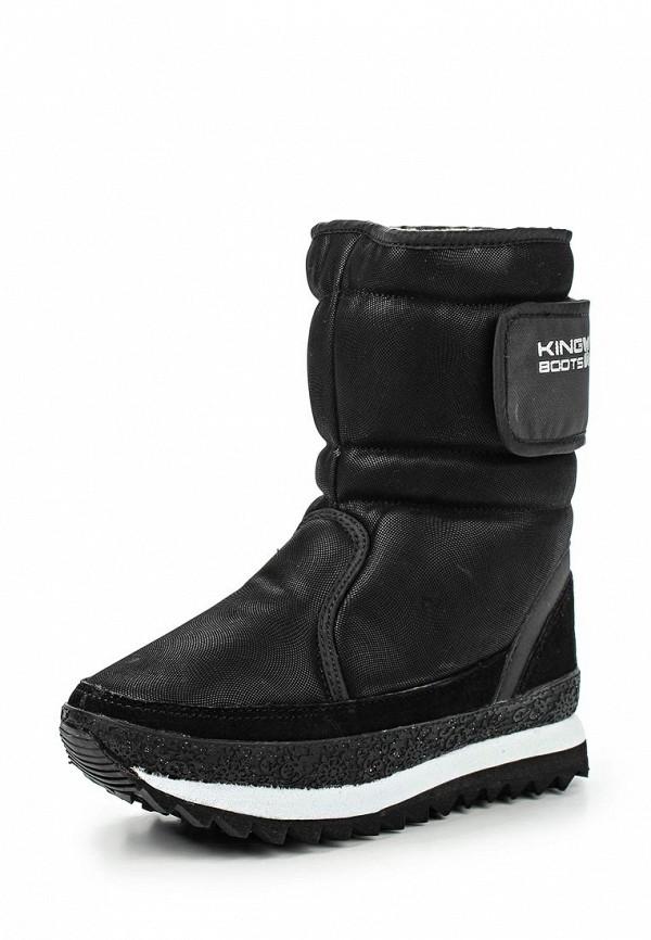 Женские дутики King Boots KB378BB