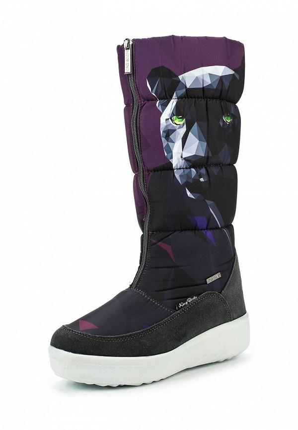 Женские дутики King Boots KB444PR