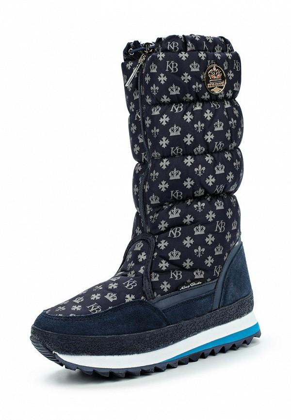 Женские дутики King Boots KB487BL