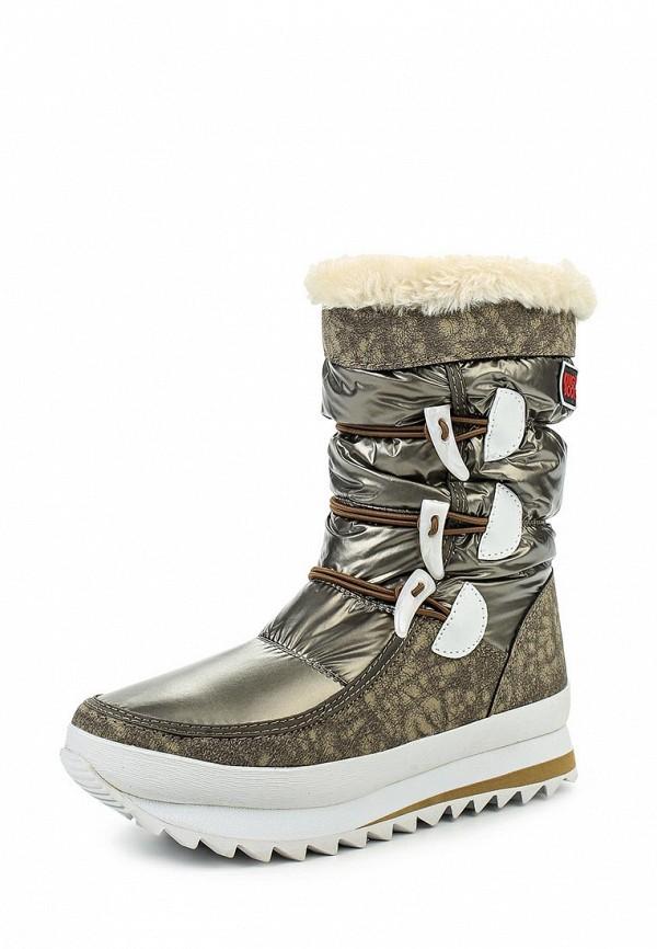 Женские дутики King Boots KB455BR