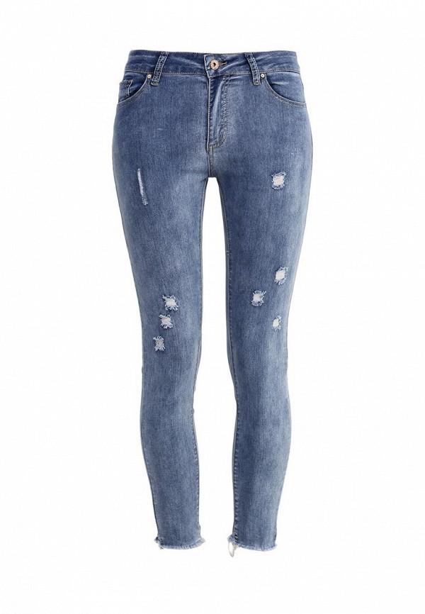 Зауженные джинсы Kiss Pink R18-B009