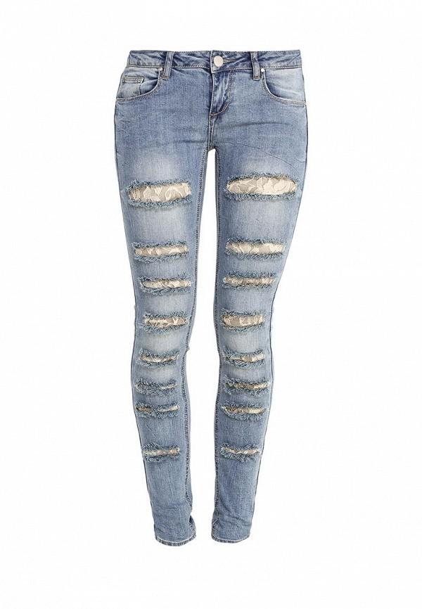 Зауженные джинсы Kiss Pink R18-T2091