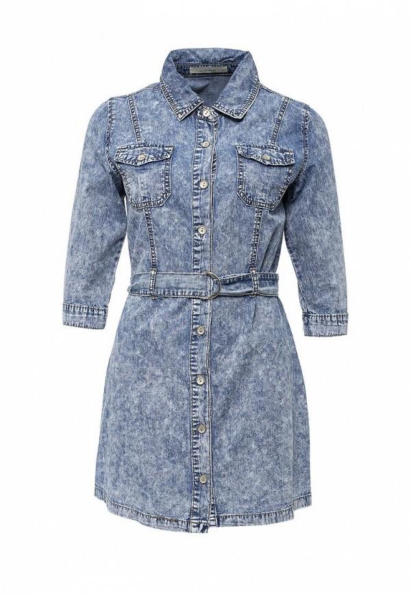 Платье джинсовое Kiss Pink R18-T3031