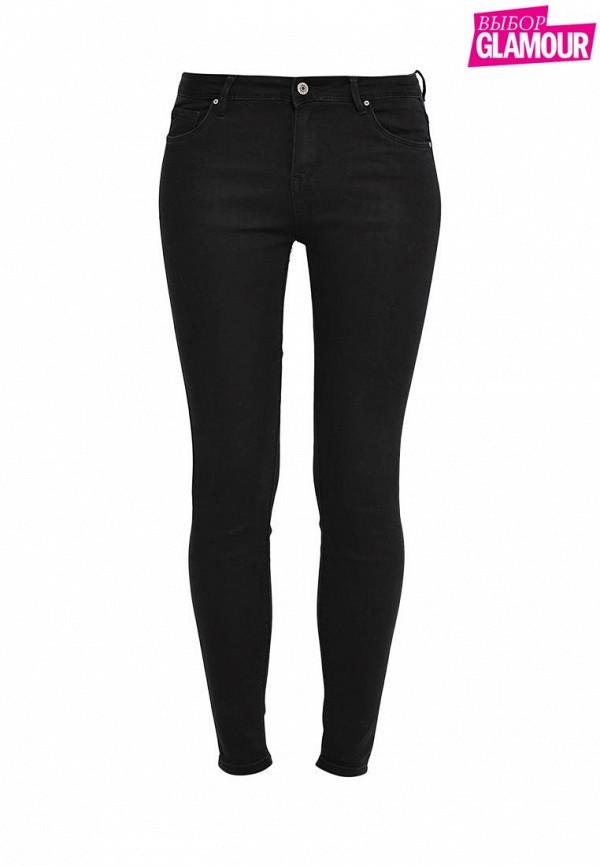 Купить женские джинсы Kiss Pink черного цвета