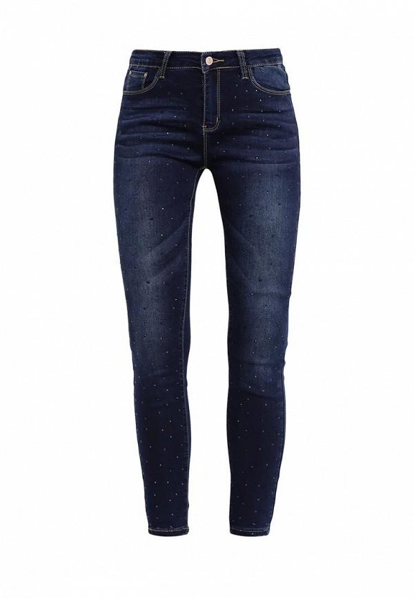 Зауженные джинсы Kiss Pink R18-F019
