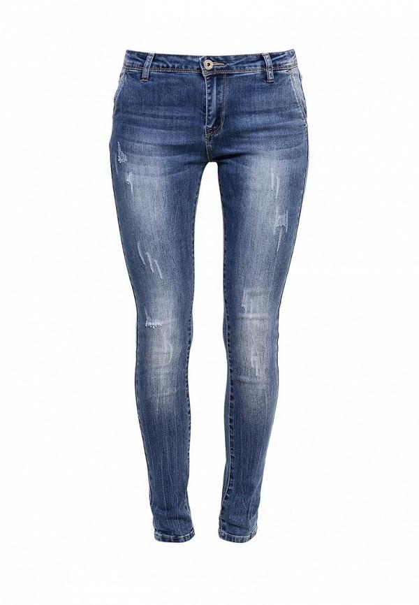 Зауженные джинсы Kiss Pink B002-BH6734