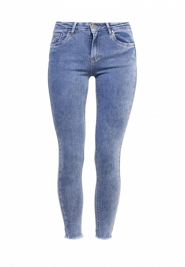 Зауженные джинсы Kiss Pink B002-BH6766