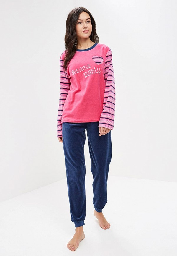 Пижама Kinanit Kinanit KI012EWZNA52 пижама turen цвет розовый