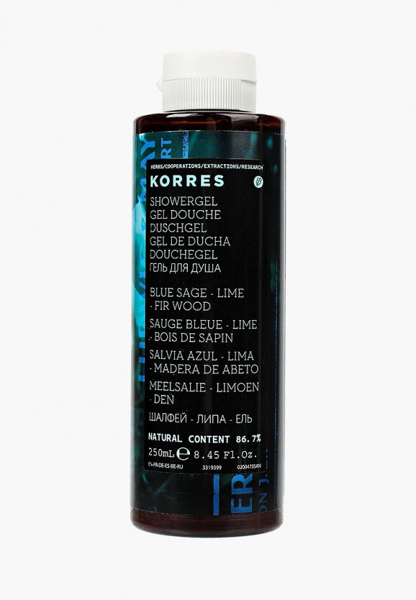 Гель для душа Korres Korres KO003LMIMG48 гели korres гель для душа манго