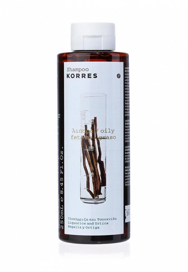 Здесь можно купить для жирных волос с лакрицей и крапивой 250 мл  Шампунь Korres Шампуни