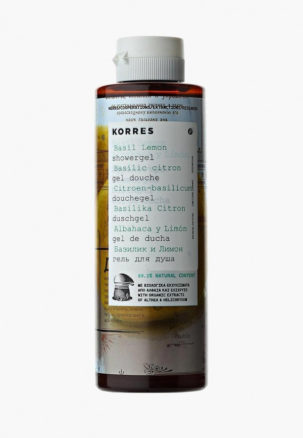 Гель для душа Korres Korres KO003LUCNC21 гель для душа korres ваниль
