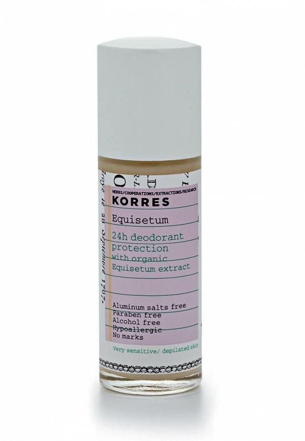 Дезодорант Korres с экстрактом хвоща для очень чувствительной кожи 24 часа
