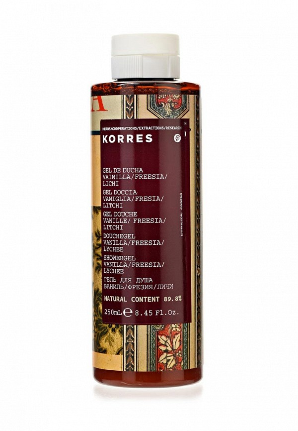 Гель для душа Korres Korres KO003MWHL452 гель для душа korres горный перец