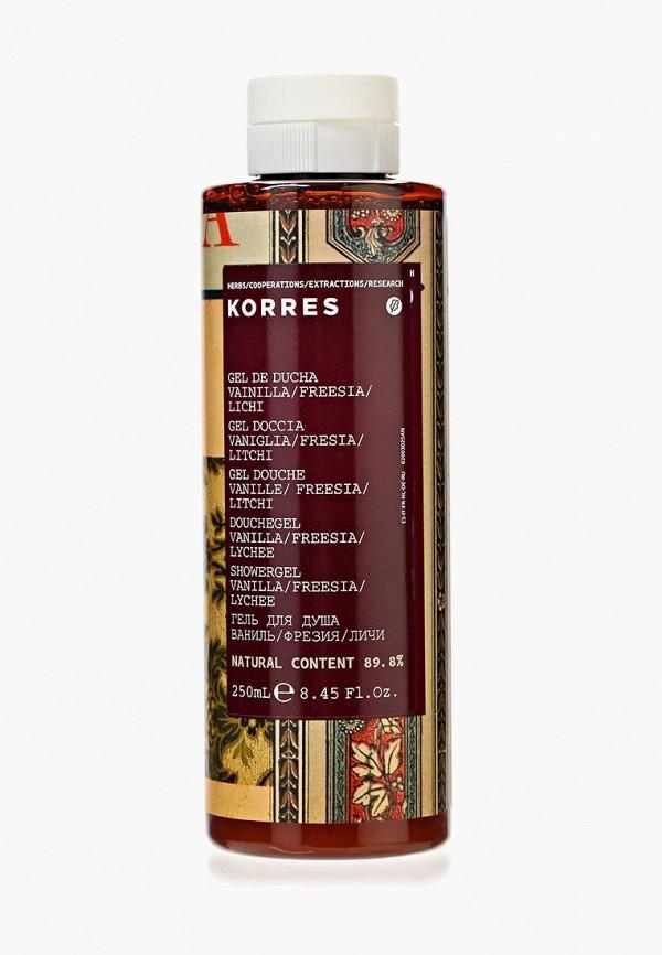 Гель для душа Korres Korres KO003MWHL452 гель для душа korres ваниль