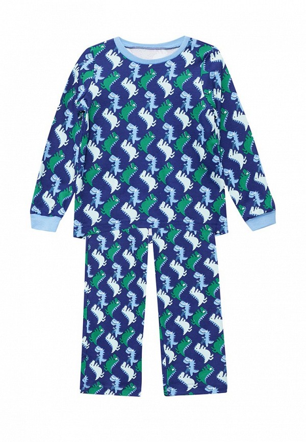 Пижама КотМарКот КотМарКот KO011EBYLY48 пижама для мальчика котмаркот цвет белый синий 16711 размер 98