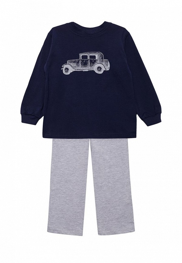 Пижама КотМарКот КотМарКот KO011EBZIK28 пижама для мальчика котмаркот цвет белый синий 16711 размер 98