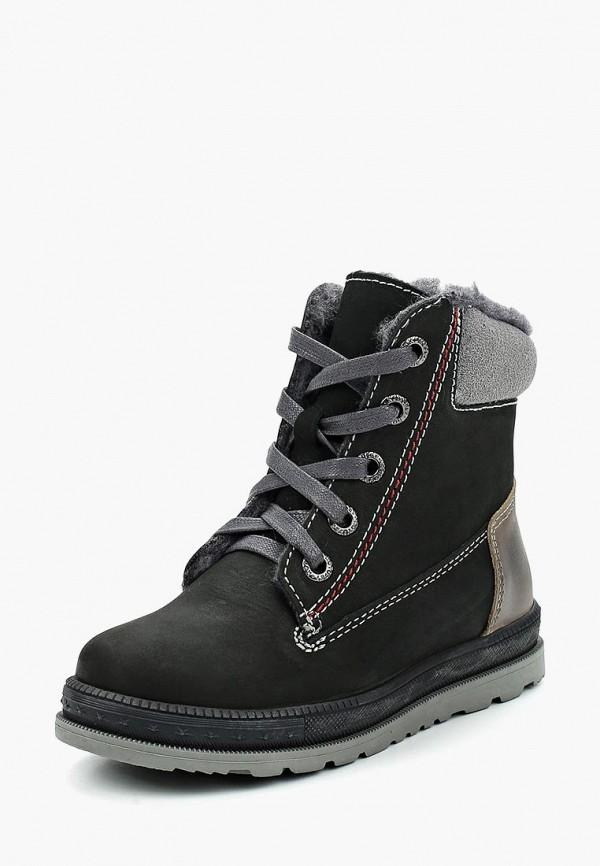 Фото - Ботинки Котофей черного цвета