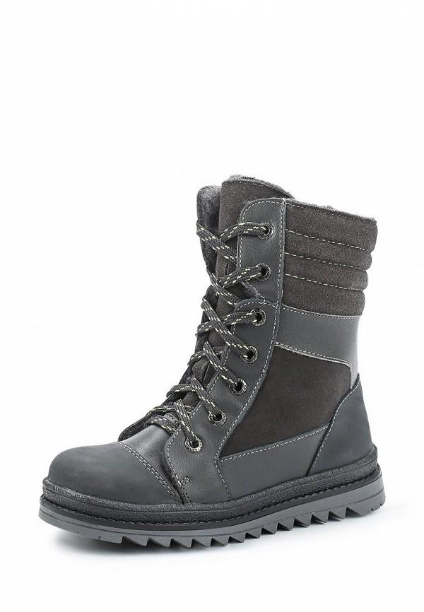 Ботинки Котофей. Цвет: серый