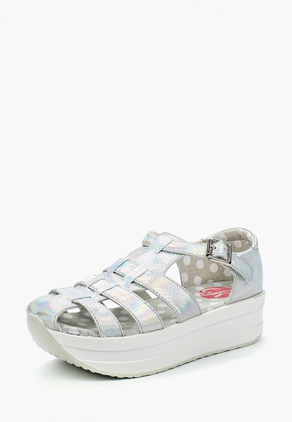 Купить Сандалии Kylie, KY002AWBKQP6, серебряный, Весна-лето 2018