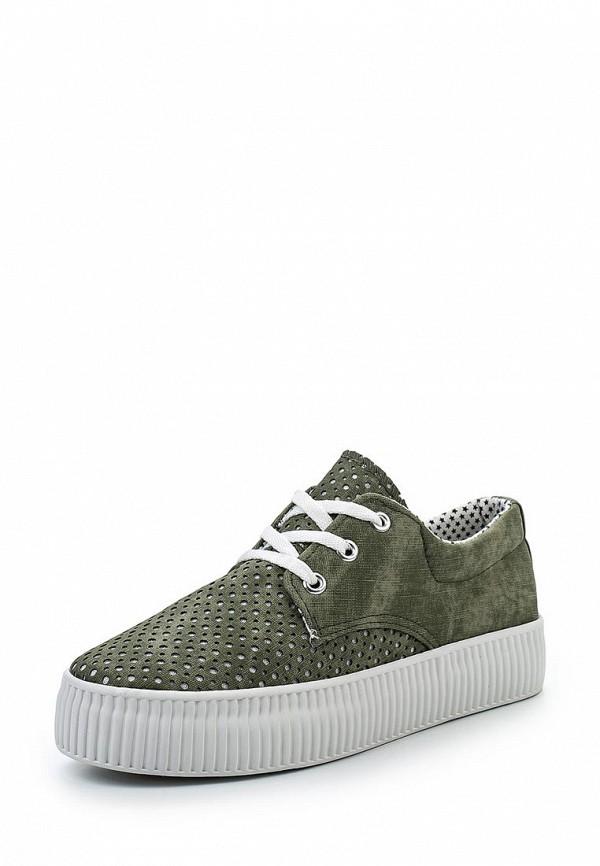 Купить Кеды Kylie зеленого цвета