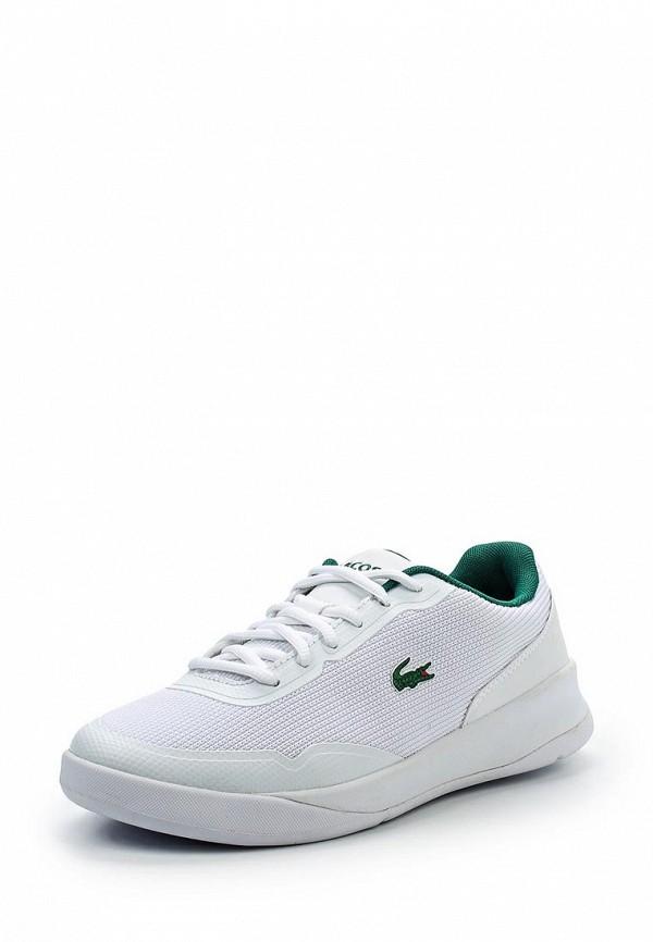 916464229cc4 Женские белые кожаные кроссовки Lacoste