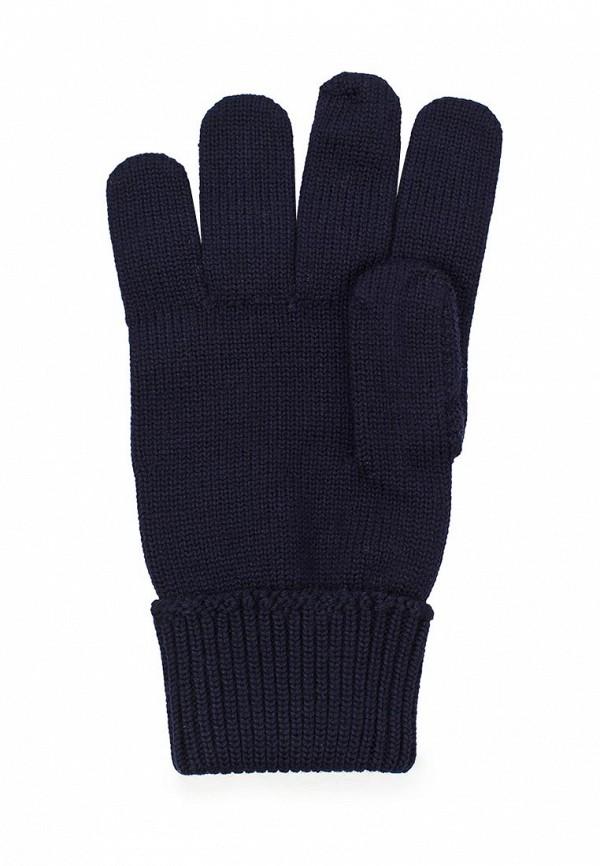 Фото 2 - мужские текстильные перчатки Lacoste синего цвета
