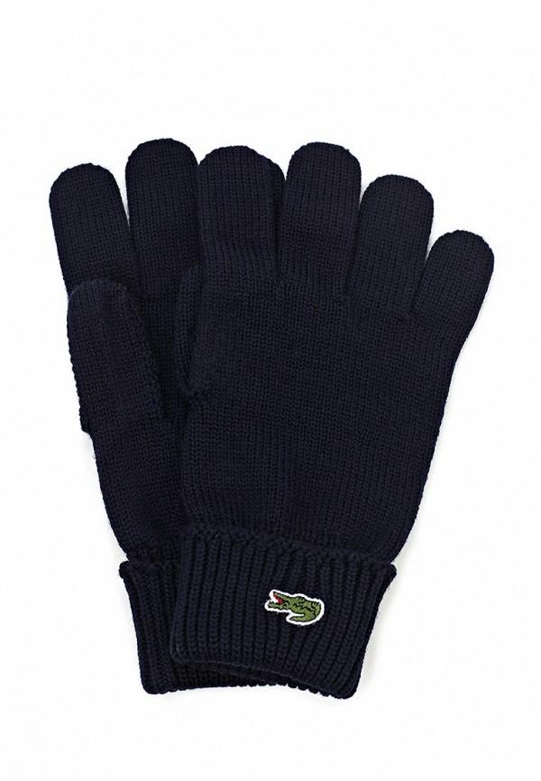 Перчатки Lacoste LA038DUDKD61. Цвет: синий