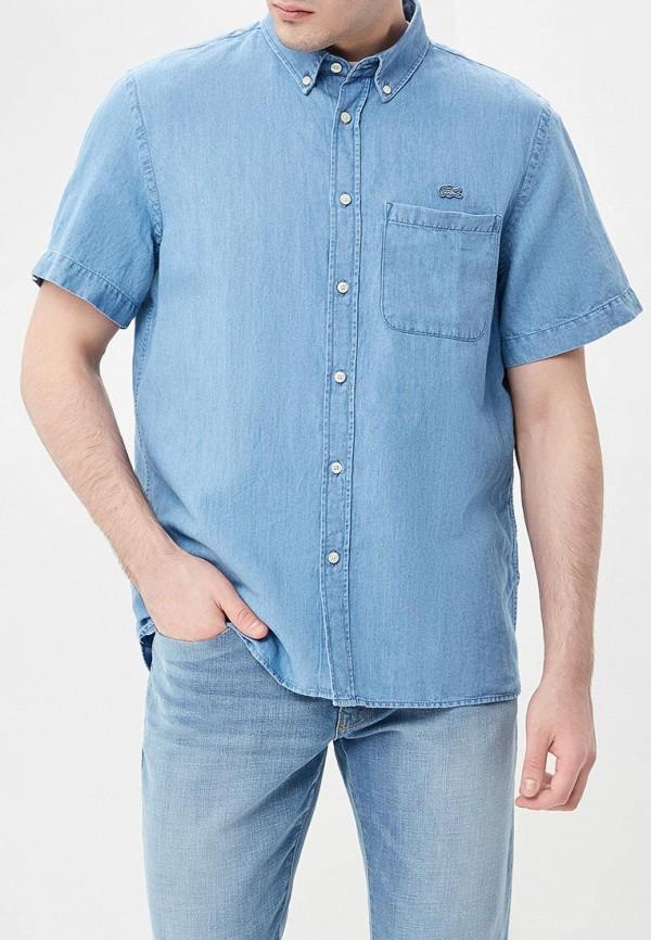 Рубашка джинсовая Lacoste Lacoste LA038EMAJRL7 рубашка lacoste