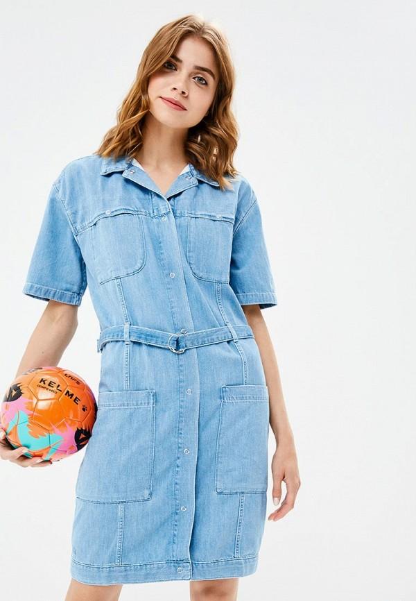 Фото Платье джинсовое Lacoste. Купить с доставкой