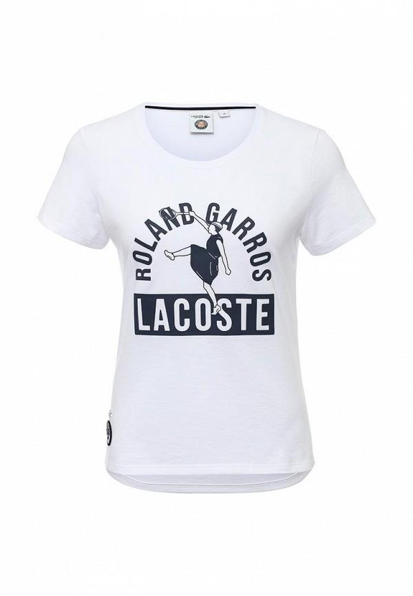Футболка с надписями Lacoste (Лакост) TF7288522