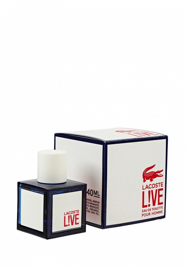 Lacoste Live 40 мл женское платье lacoste live 469937