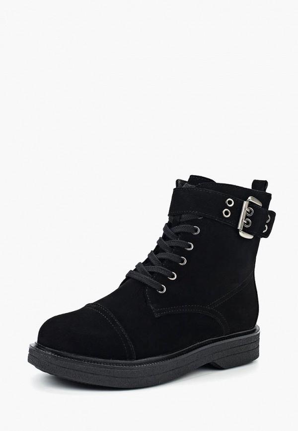 Фото - женские ботинки и полуботинки La Grandezza черного цвета
