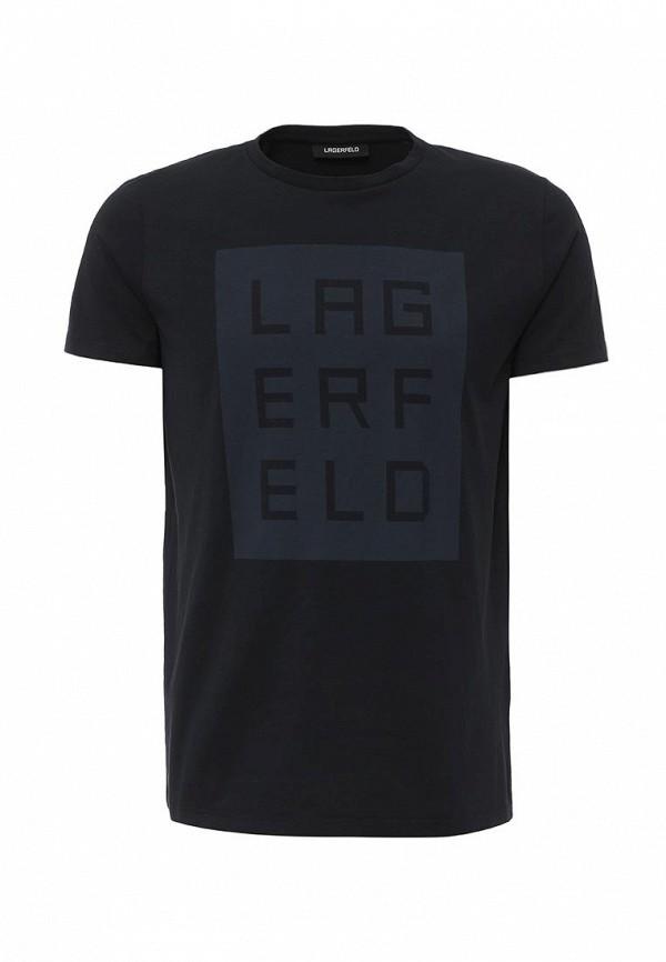 Футболка с надписями Lagerfeld 66268529