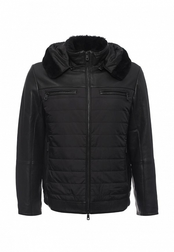 Кожаная куртка Lagerfeld 67429