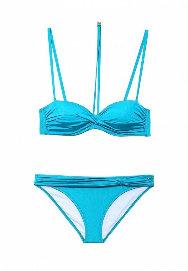 Голубой итальянский купальник