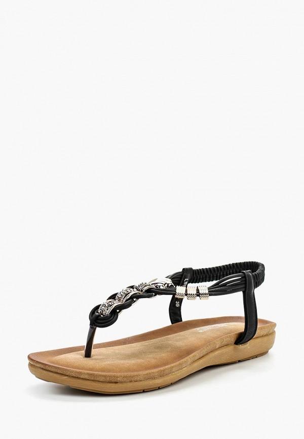 Фото - женские сандали La Bottine Souriante черного цвета