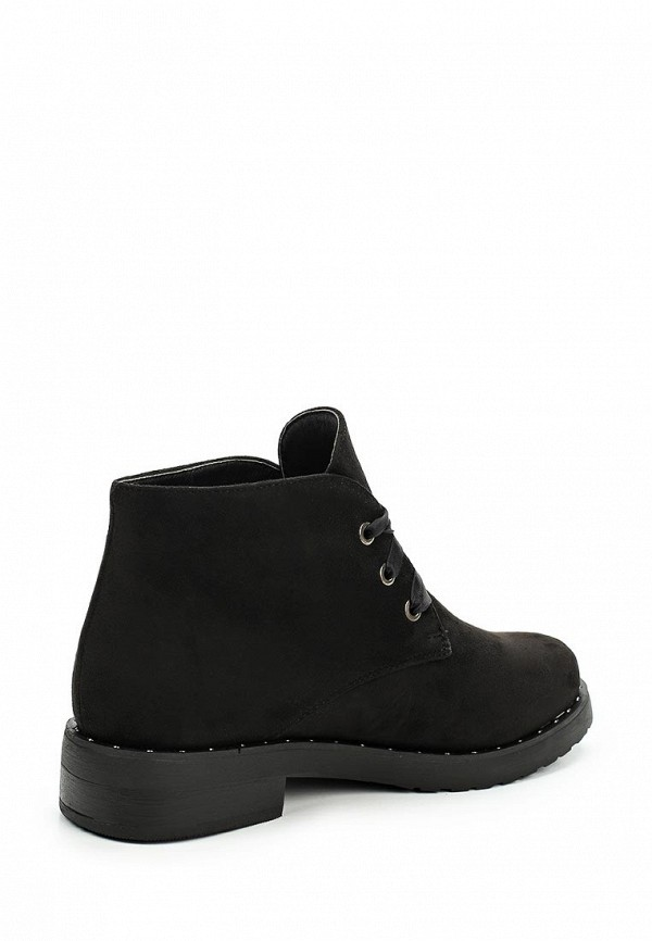 Фото 2 - женские ботинки и полуботинки La Bottine Souriante черного цвета