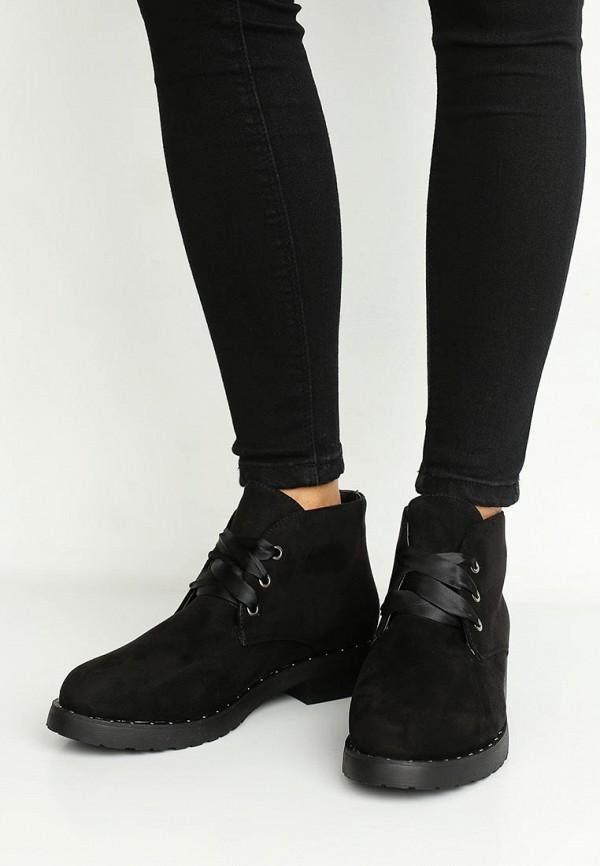 Фото 5 - женские ботинки и полуботинки La Bottine Souriante черного цвета