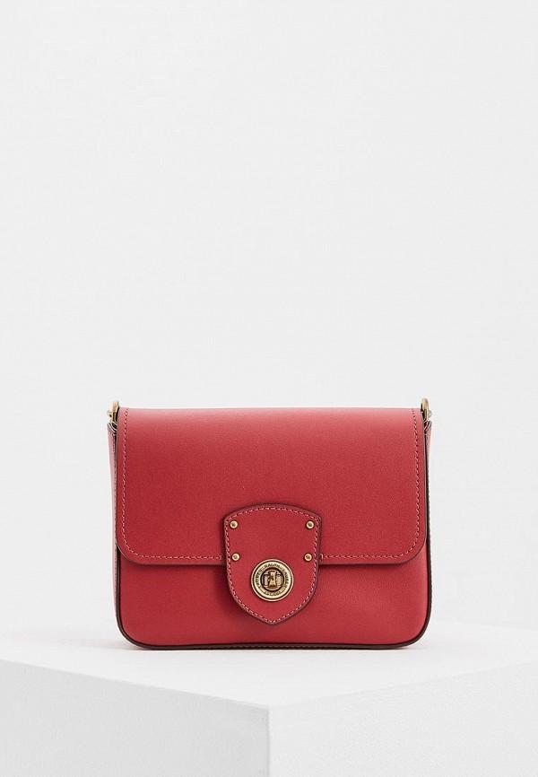 Купить женскую сумку Lauren Ralph Lauren красного цвета