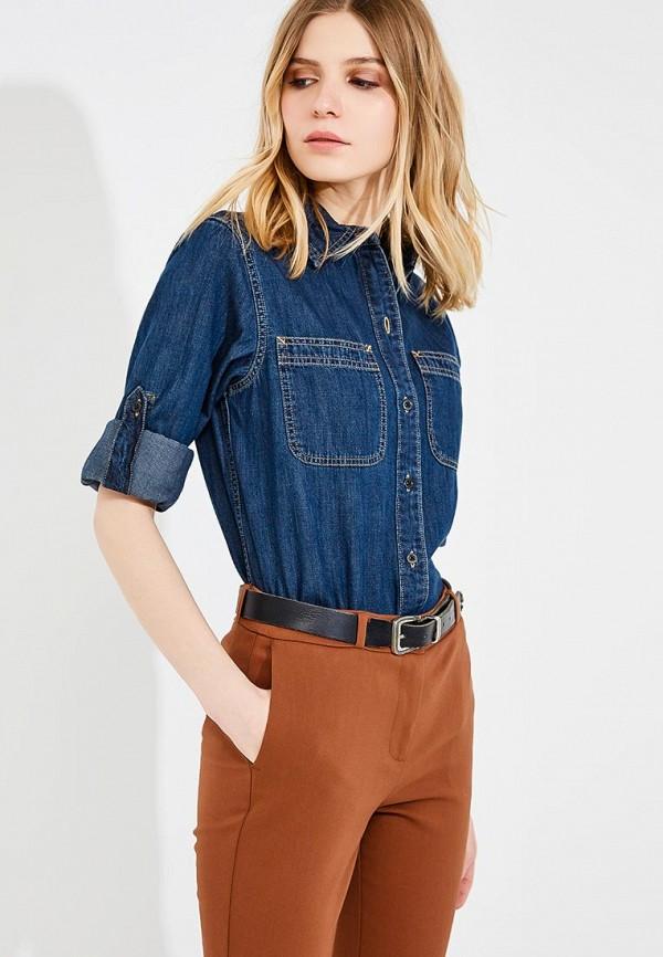 Рубашка джинсовая Lauren Ralph Lauren Lauren Ralph Lauren LA079EWZWP66 рубашки pierre lauren рубашка