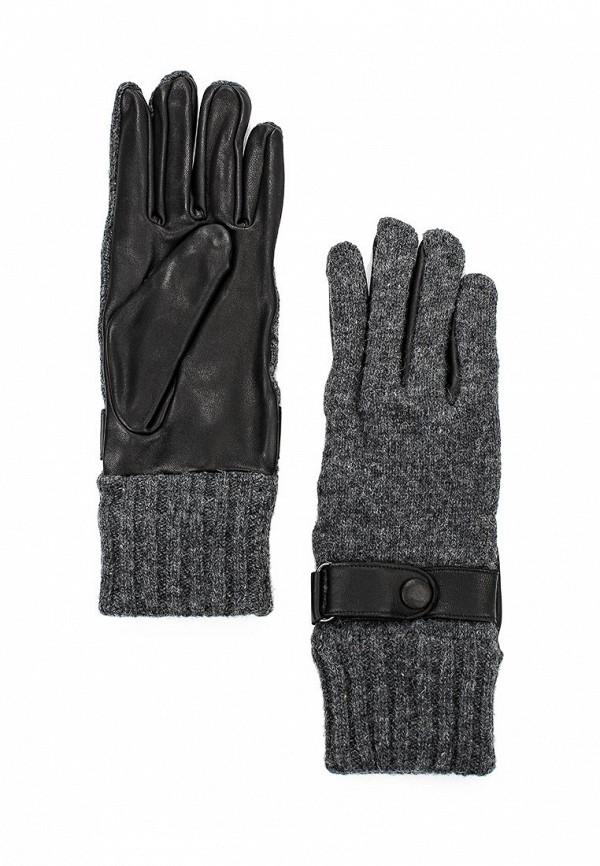 Мужские перчатки Labbra LB-02070M black/grey