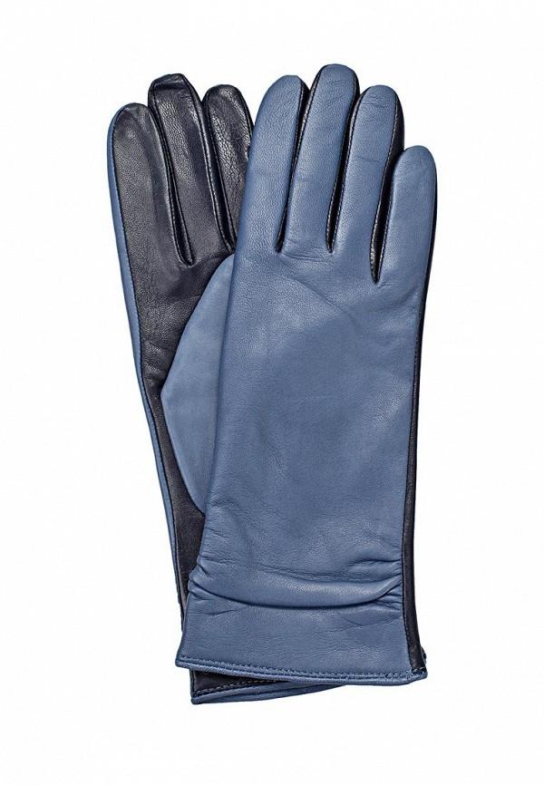 Женские перчатки Labbra LB-8338 l.blue/d.blue