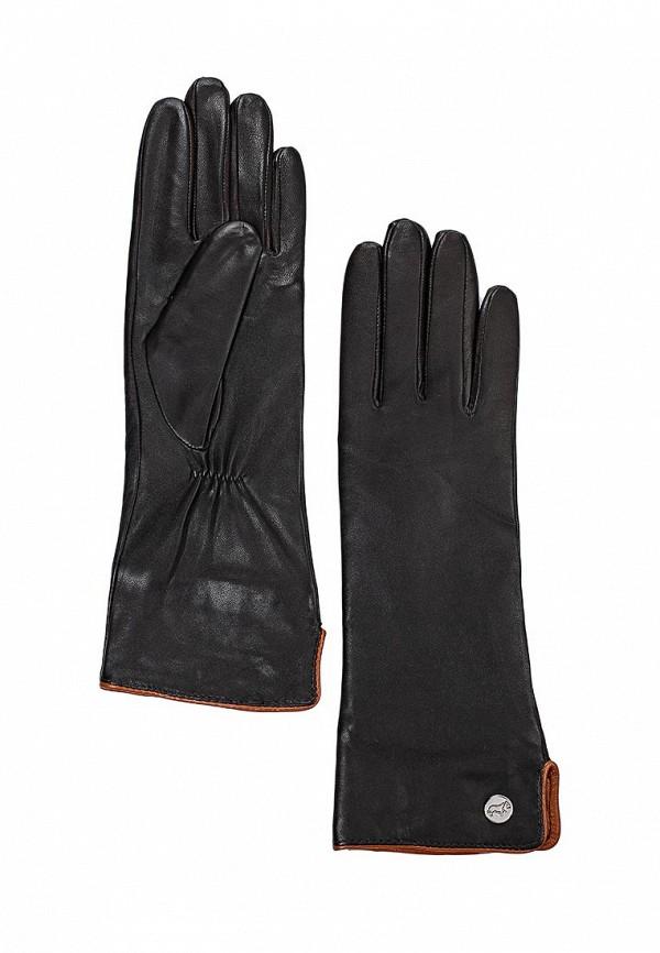 Женские перчатки Labbra LB-0193 d.brown/cognac